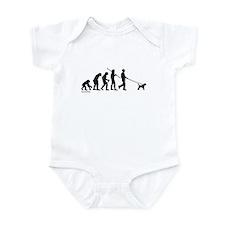Border Terrier Evolution Infant Bodysuit