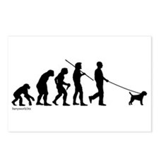 Border Terrier Evolution Postcards (Package of 8)