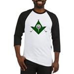 Masonic Golf Lover Baseball Jersey