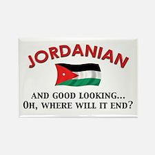 Good Looking Jordanian Rectangle Magnet