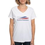 NARP Logo Women's V-Neck T-Shirt