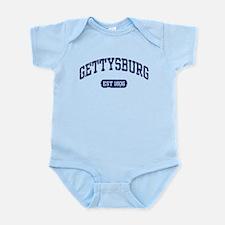 Gettysburg Est 1806 Infant Bodysuit