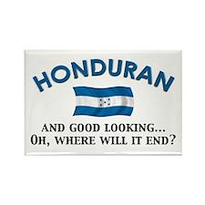 Good Lkg Honduran 2 Rectangle Magnet