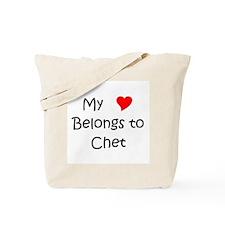Unique Chet Tote Bag