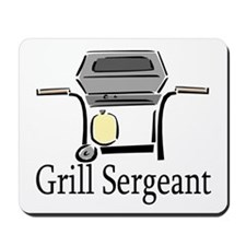 Grill Sergeant Mousepad