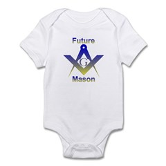 Masonic Future Mason Infant Creeper