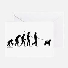 Akita Evolution Greeting Cards (Pk of 20)