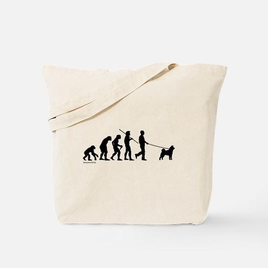 Akita Evolution Tote Bag