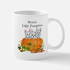 Mom's Westie Pumpkin Puppy Dogs! Mug