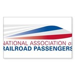 NARP Logo Sticker (Rectangle 50 pk)