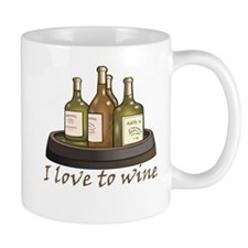 I love to wine Mug