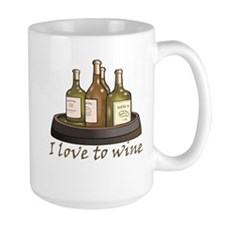 I love to wine Mug