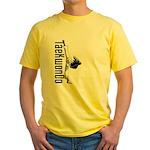 TaeKwonDo Kick Yellow T-Shirt