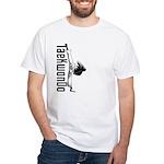 TaeKwonDo Kick White T-Shirt
