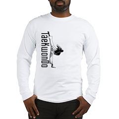 TaeKwonDo Kick Long Sleeve T-Shirt