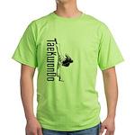 TaeKwonDo Kick Green T-Shirt