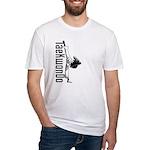 TaeKwonDo Kick Fitted T-Shirt