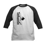 TaeKwonDo Kick Kids Baseball Jersey