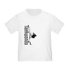 TaeKwonDo Kick Toddler T-Shirt
