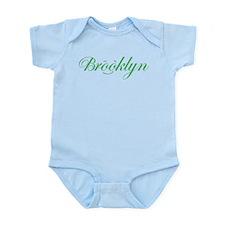 Infant Bodysuit BK Smile Green