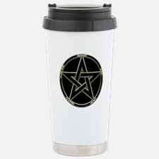 Earth, Air & Fire Pentagram Stainless Steel Tr
