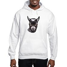 Pygmy Goat Portrait Hoodie