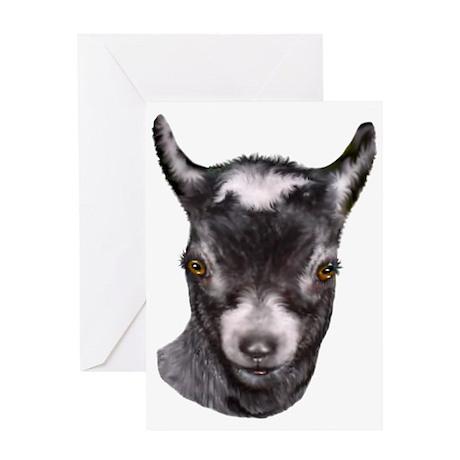 Pygmy Goat Portrait Greeting Card