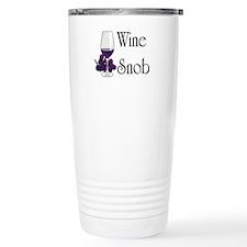 Wine snob Travel Mug