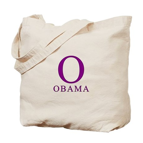 Purple Obama O Tote Bag
