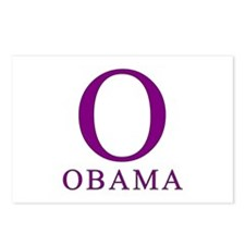 Purple Obama O Postcards (Package of 8)