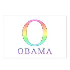 Pastel Obama O Postcards (Package of 8)