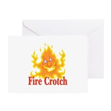 Fire Crotch Greeting Card