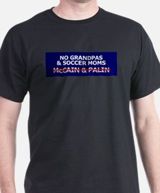 McCain & Palin - No Grandpa & T-Shirt