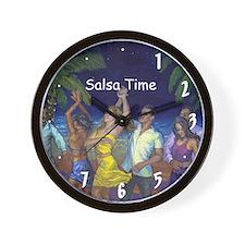 Salsa Time Noche de Salsa Wall Clock