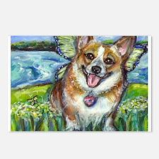 Welsh Corgi Fairy dog Postcards (Package of 8)