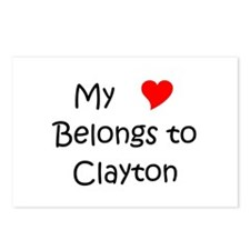 Cool Clayton Postcards (Package of 8)