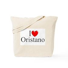 """""""I Love (Heart) Oristano"""" Tote Bag"""