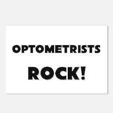 Optometrists ROCK Postcards (Package of 8)