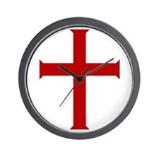 """""""Time for Crusading"""" Wall Clock"""