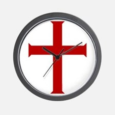 """Time for Crusading"" Wall Clock"
