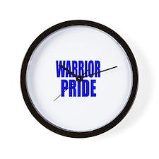 WARRIOR PRIDE Wall Clock