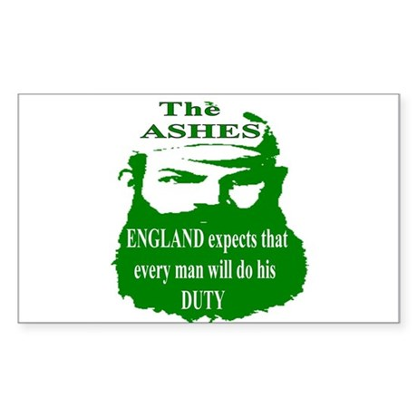 The ASHES Rectangle Sticker