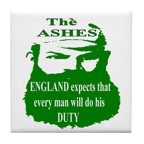 The ASHES Tile Coaster