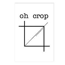 oh crop Postcards (Package of 8)