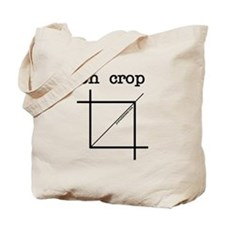 oh crop Tote Bag