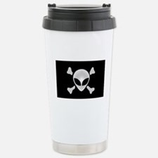 Alien Pirate Stainless Steel Travel Mug