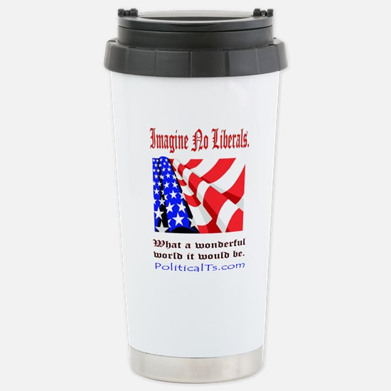 What a wonderful world Stainless Steel Travel Mug