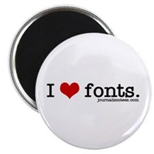 I love fonts. Magnet