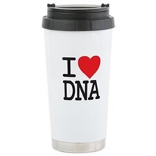 I Heart DNA Travel Mug