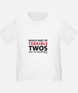 Terrible Twos Toddler Tee